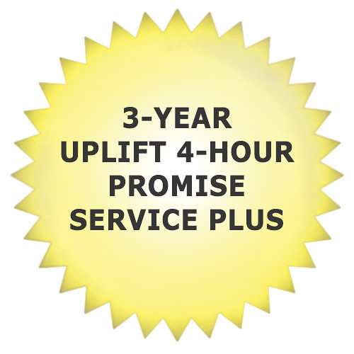 Promise Technology 3-Year Uplift ServicePlus 4-Hour Support for VTrak x30 & VTrak A-Class Series Units with Drives