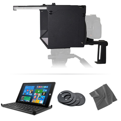 PRomptBox PRo Pak PRompter ONE Folding Mobile Teleprompter Tabletop Kit