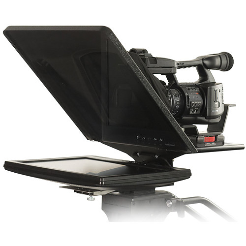 """Prompter People FLEX-19 19"""" Teleprompter Kit with Flip-Q Pro and Wireless Remote"""