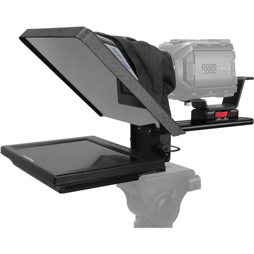 "Prompter People Flex Plus 12"" Teleprompter with 12"" Reversing Monitor"