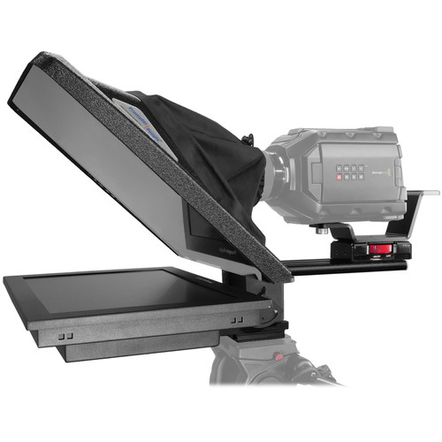 "Prompter People Flex Plus 15"" Teleprompter with 15"" Reversing High-Bright Monitor"