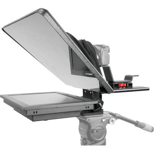 "Prompter People Flex Plus 15"" Trapezoidal HB Teleprompter with 15"" Reversing Monitor"
