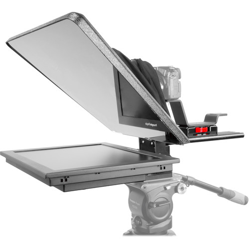 """Prompter People Flex Plus 17"""" Trapezoidal HB Teleprompter with 17"""" Reversing Monitor"""