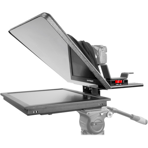 """Prompter People Flex Plus 19"""" Trapezoidal HB Teleprompter with 19"""" Reversing Monitor"""