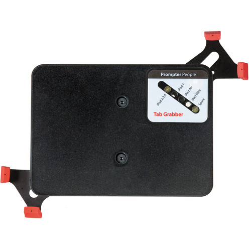 Prompter People Tab Grabber Universal iPad/Tablet Cradle for Ultralight Teleprompters