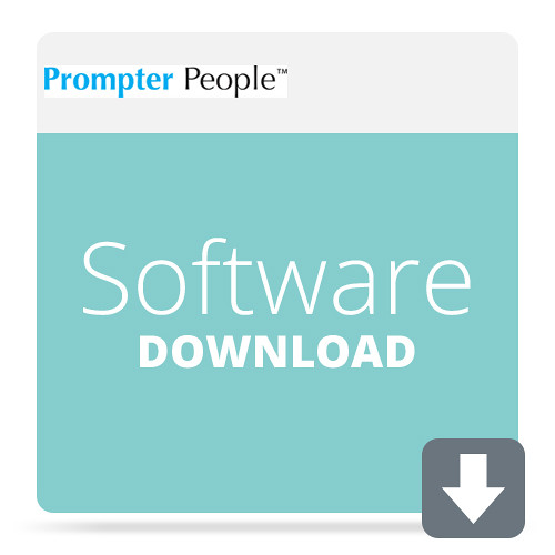 Prompter People Flip-Q Pro Teleprompter Software