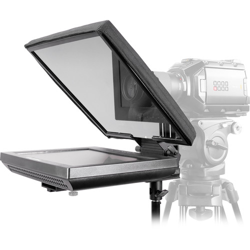 """Prompter People UltraFlex 12"""" FreeStand Teleprompter with Auto Reversing Monitor"""
