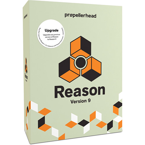 Propellerhead Software Reason 9 - Music Production Software (Upgrade, Educational Discount, 5 Seat)