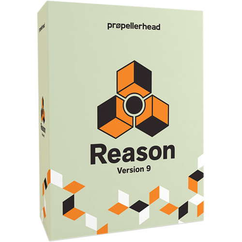 Propellerhead Software Reason 9 - Music Production Software (Upgrade, Educational Discount, 10 Seat)
