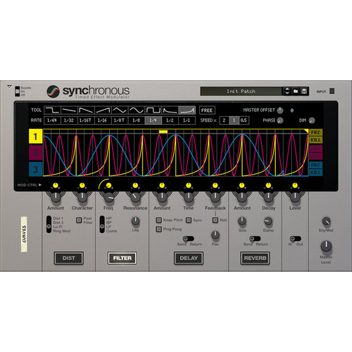 Propellerhead Software Synchronous Timed Effect Modulator Rack Extension for Reason (Download)