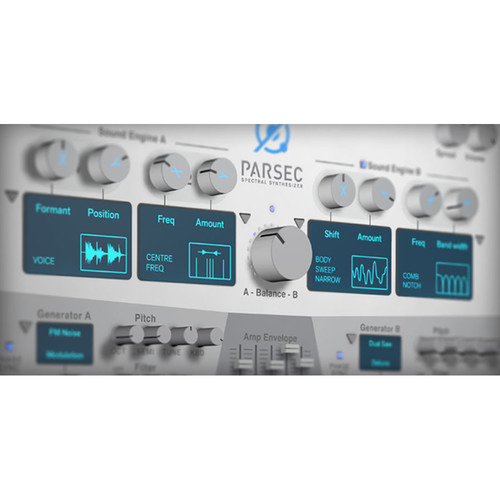 Propellerhead Software Parsec Spectral Synthesizer - Rack Extension for Reason (Download)