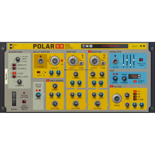 Propellerhead Software Polar Dual Pitch Shifter Rack Extension for Reason (Download)