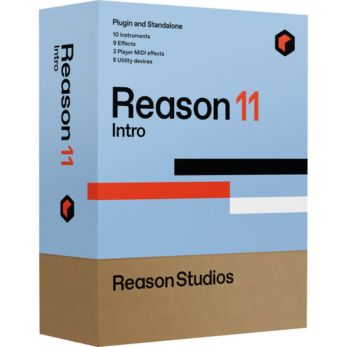 Reason Studios Reason 11 Intro Music Production Software (Download)