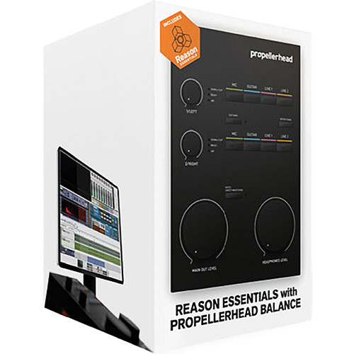 Propellerhead Software Balance and Reason Essentials 1.5 - Digital Audio Interface and Software Bundle