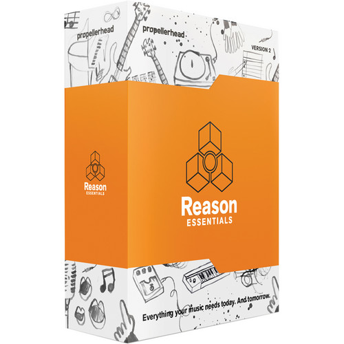 Propellerhead Software Reason Essentials 2 Software (Boxed Version)