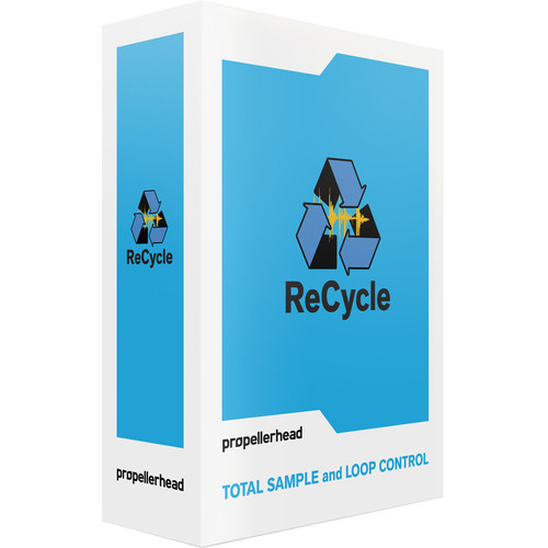 Propellerhead Software ReCycle 2.2 Loop Editor Software (Educational / 10 Seats)