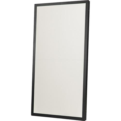 "Prosocoustic Evolution 4' x 2' x 2"" Acoustic Panel with Black Aluminum Frame (Stone)"