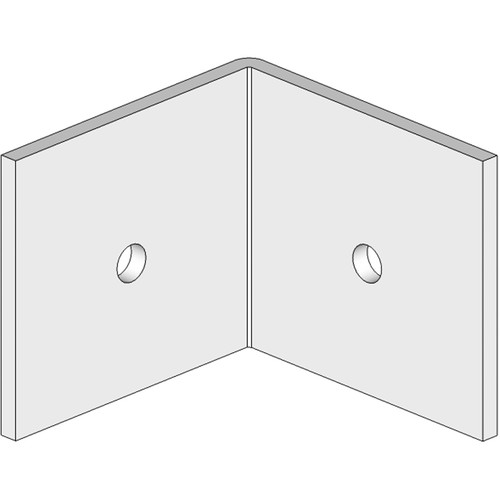 Prosocoustic Corner Bracket for Two Evo Panels at 90 Degrees
