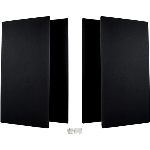 Prosocoustic WaveRoom Big Panel Booster Kit for up to 100 Square Feet (Black)