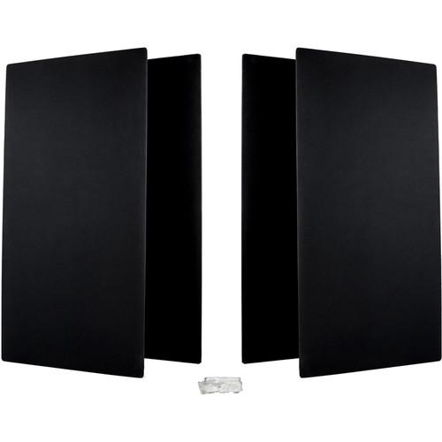 Prosocoustic WaveRoom Big Panel Booster Kit for Up to 100 Square Feet (Black)