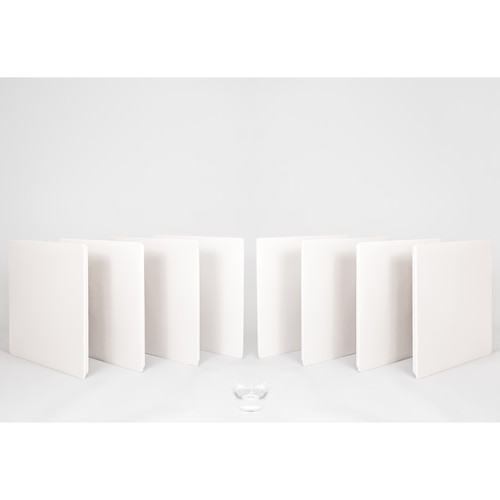 Prosocoustic WaveRoom Small Panel Booster Kit for up to 100 Square Feet (Stone)