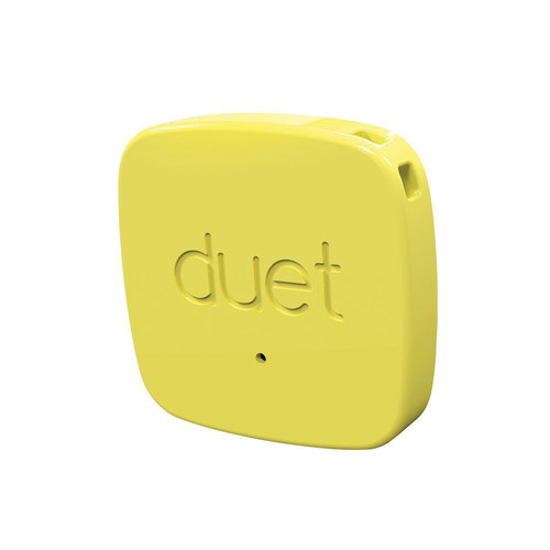PROTAG Duet Bluetooth Tracker (Yellow)