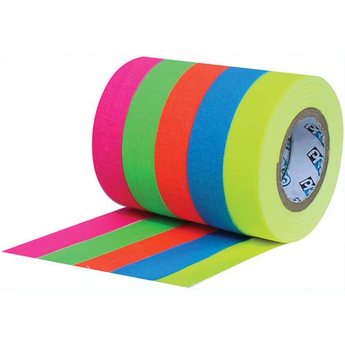 "ProTapes Pro Pocket Fluorescent Color Spike Tape Stack (1/2"" x 6 yd)"