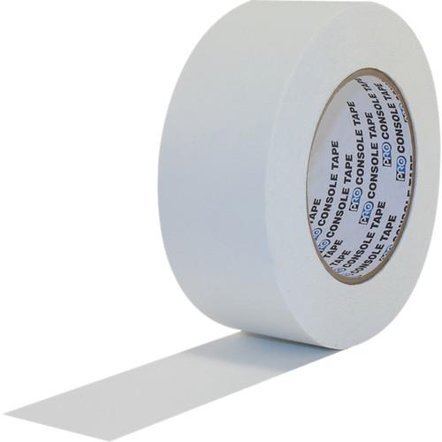"ProTapes Premium Flatback Paper Console Tape (1"" x 60 yd, White)"
