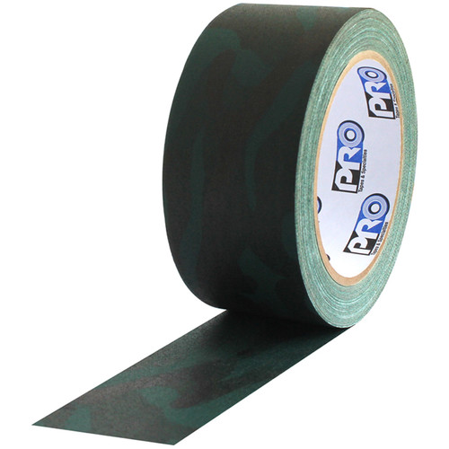 "ProTapes Camouflage Gaffer Tape (Forest Green, 2"" x 20 yd)"