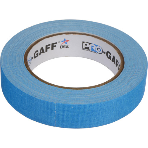 """ProTapes Pro Gaff Adhesive Tape (1"""" x 25 yd, Fluorescent Blue)"""