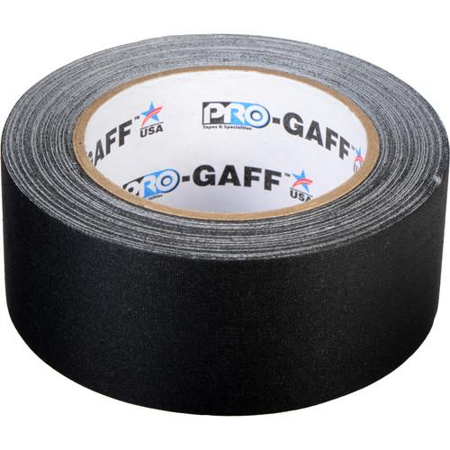 """ProTapes Pro Gaffer Tape (2"""" x 25 yd, Black)"""
