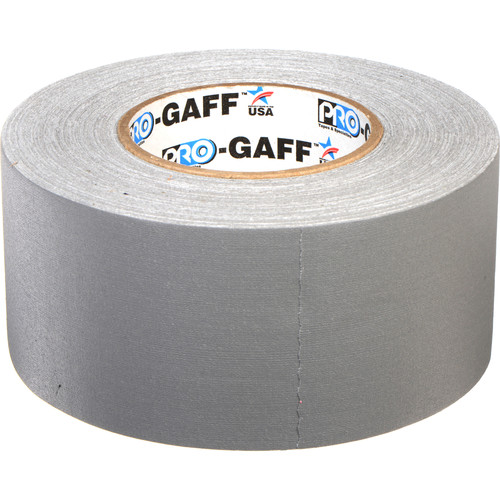 "ProTapes Pro Gaffer Tape (3"" x 55 yd, Gray)"