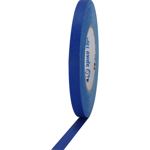 """ProTapes Pro Spike Cloth Gaffers Tape (0.5"""" x 45 yd, Electric Blue)"""
