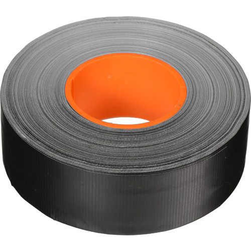 "ProTapes Pro AV-Cable Tape with 1"" Dry Channel for GaffTech GaffGun (2"" x 55 Yards, Black)"