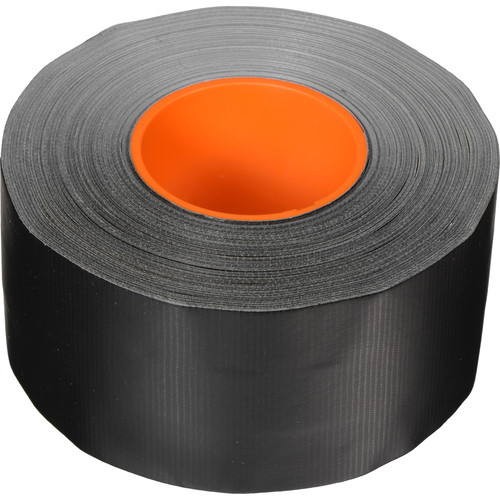 "ProTapes Pro AV-Cable Tape with 1"" Dry Channel for GaffTech GaffGun (3"" x 55 Yards, Black)"
