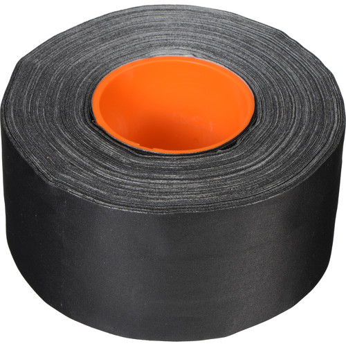 "ProTapes Pro Gaff Gaffer Tape with 1"" Dry Channel for GaffTech GaffGun (3"" x 55 Yards, Black)"