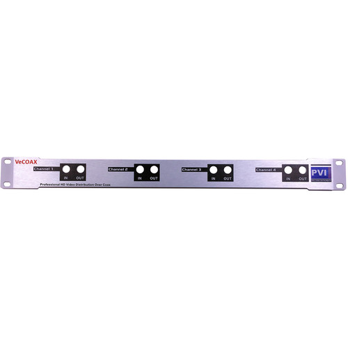 ProVideoInstruments 4-in-1 MiniMod 1 RU Rack-Mount Plate Kit