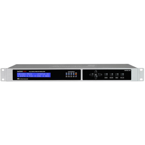 ProVideoInstruments VeCOAX PRO SDI 4-Channel 3G/HD/SD-SDI QAM RF Modulator with IPTV