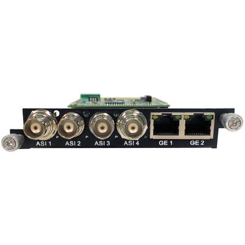 ProVideoInstruments VeCOAX Ultra-BT 4 x ASI Stat-Mux Multiplexer Card