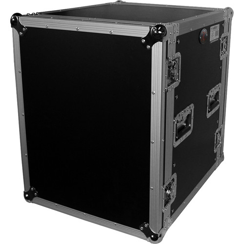 """ProX T-14RSS Amp Rack ATA Flight Case (19"""" Depth, 14 RU, with Casters)"""