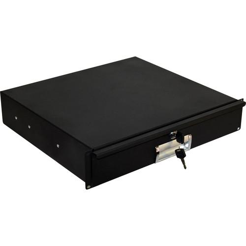 """ProX 12"""" Deep Heavy-Duty Locking Rack Drawer (3 RU)"""