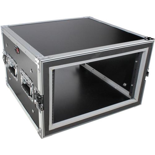 "ProX T-6RSP Shockproof ATA Amp Rack Flight Case (20"" Depth, 6 RU)"