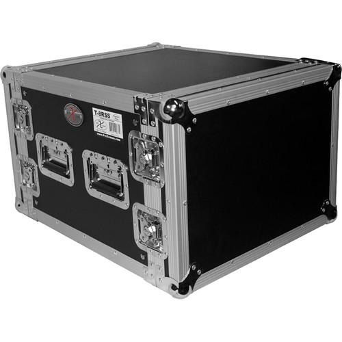 ProX T-8RSS ATA Amp Rack Flight Case (8 RU)