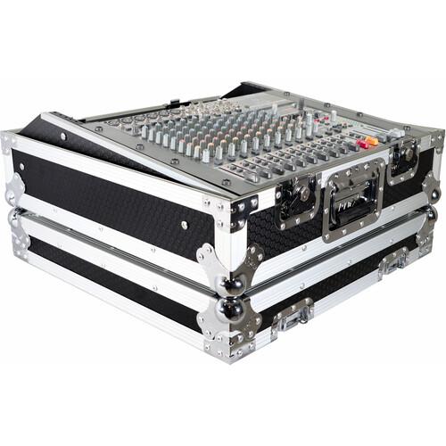 """ProX 19"""" Topload Rackmount Mixer Case (10 RU)"""