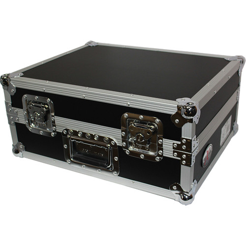 ProX T-TT Case for SL1200-Style Turntable (Silver on Black)
