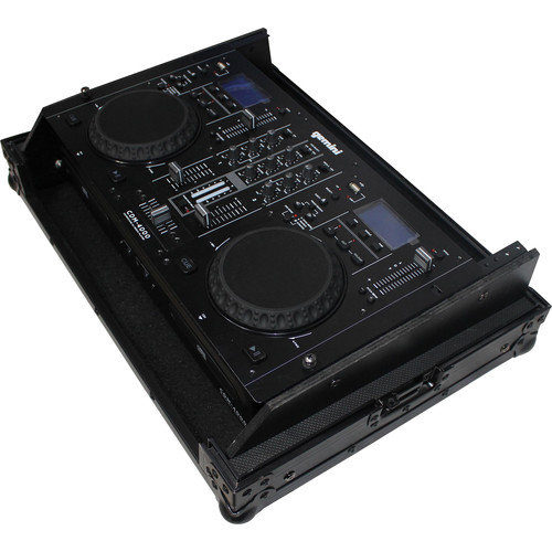 ProX X-19MIX7UBL Flight Case for Gemini CDM-4000 DJ Media Player (Black on Black)