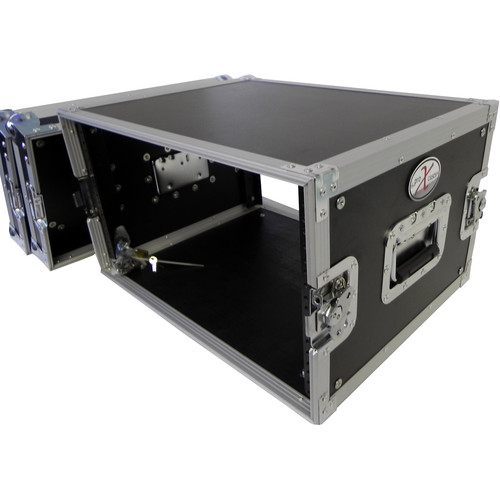 ProX X-U8 Deluxe Flight Case for Effects Rack (8 RU)