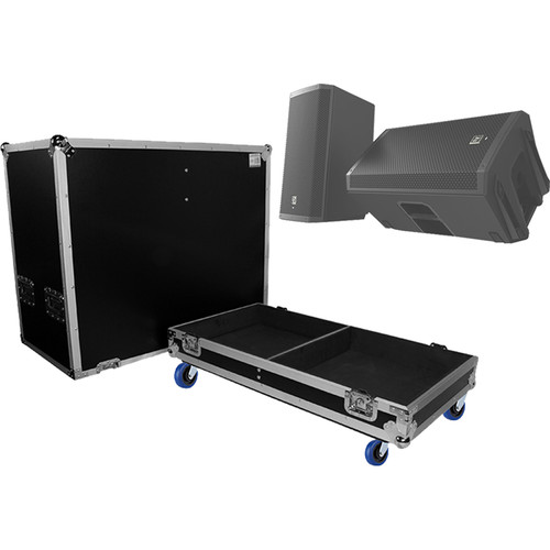 ProX ATA Style Flight Case for EV ZLX12P Dual Speakers