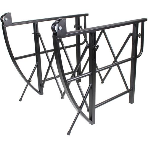 ProX EZ-TILT Lifting/Rolling Stand for Audio and Lighting Consoles