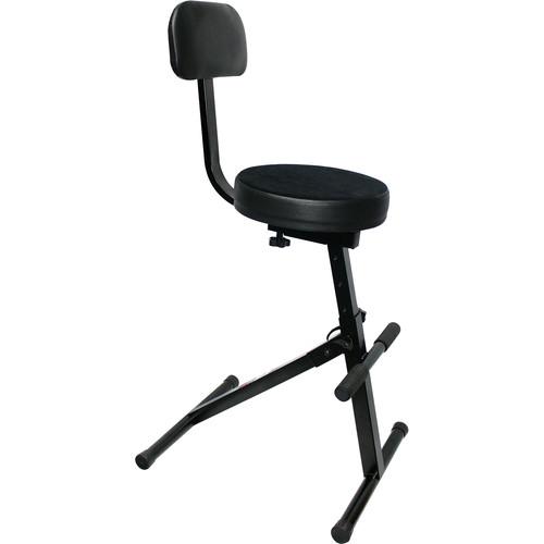 ProX Portable Gig Chair for Live & Studio Performance